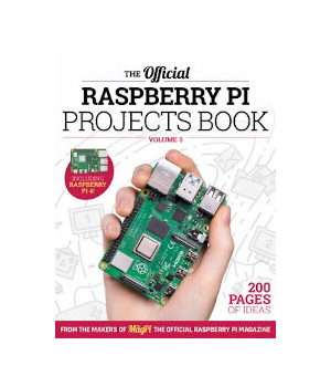 Raspberry Pi Projects Book, Volume 5