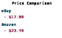 Price Comparison